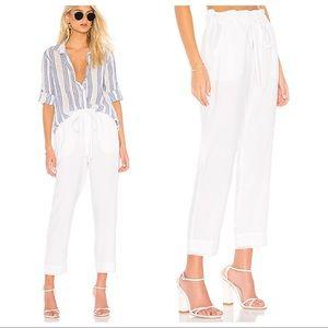 New! Bella Dahl Ruffle High Waisted Trouser